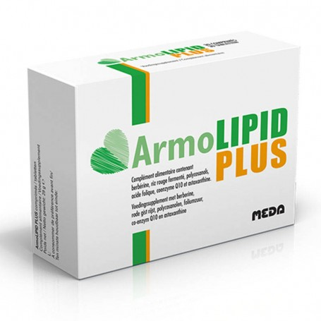 Armolipid Plus 60 compresse Meda Pharma