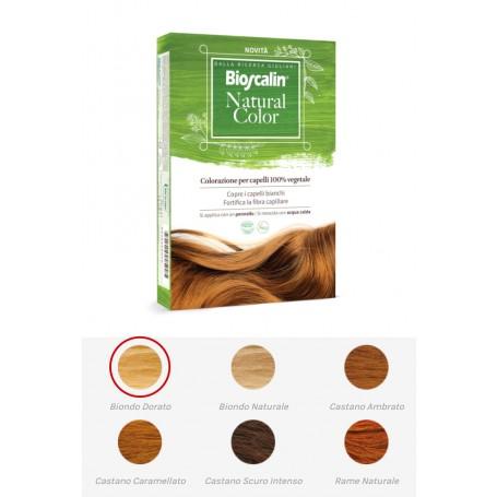 Bioscalin Natural Color Biondo Dorato Tinta Henné