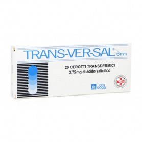 Transversal 20 cerotti 3,75mg/6mm Calli e Duroni