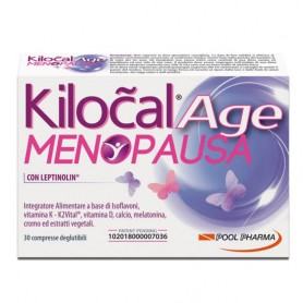 Kilocal Age Menopausa 30 compresse pre-menopausa, menopausa, post-menopausa