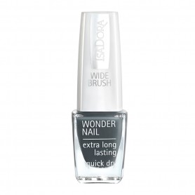 Isadora Wonder Nail Wide Brush Grigio Mercurio n 436