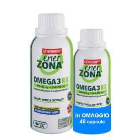Enerzona Omega 3 Rx 120 + 48 Capsule OMAGGIO Colesterolo e Trigliceridi