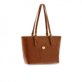 Borsa Shopper piccola in pelle Linea Story Donna 04902501 The Bridge