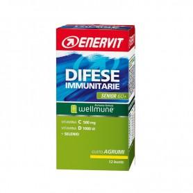 Integratore Difese Immunitarie Senior 60+ gusto Agrumi Enervit