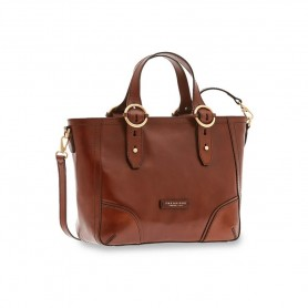 Borsa in pelle con manici regolabili Linea Matilde 0428214N The Bridge