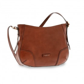 Borsa in pelle con tracolla Linea Matilde 0428414N The Bridge