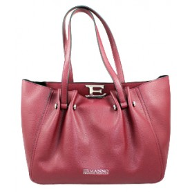 Borsa Bordeaux in ecopelle Small Tote Giovanna 12401055 Ermanno Scervino