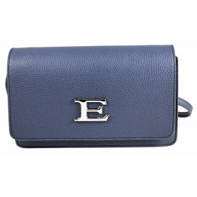 Borsa Blu in ecopelle Flap Eba 12401134 Ermanno Scervino