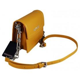 Scervino Smallflap Bag Jane Mustard 1240