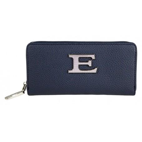 Scervino Portafogli Con Zip Eba Blu 1260