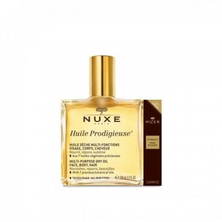 Nuxe Huile 100ml+prod Perfum
