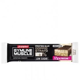 Barretta proteica 27% con vitamine Doppio strato Gymline Enervit