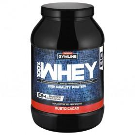 Barattolo 100% Whey Protein gusto Cacao 900g Gymline Enervit